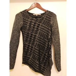 Rachel Roy asymmetrical sweater, XS
